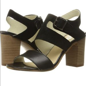 Bos & Co Butter Soft Leather (9) w/ Suede Heels